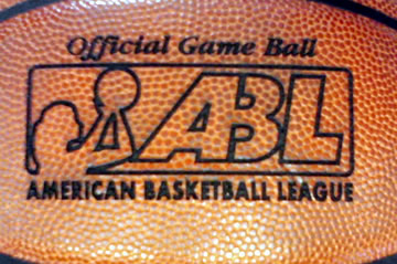 Laser Part Marking - Official Game Ball - ABL - American Basketball League